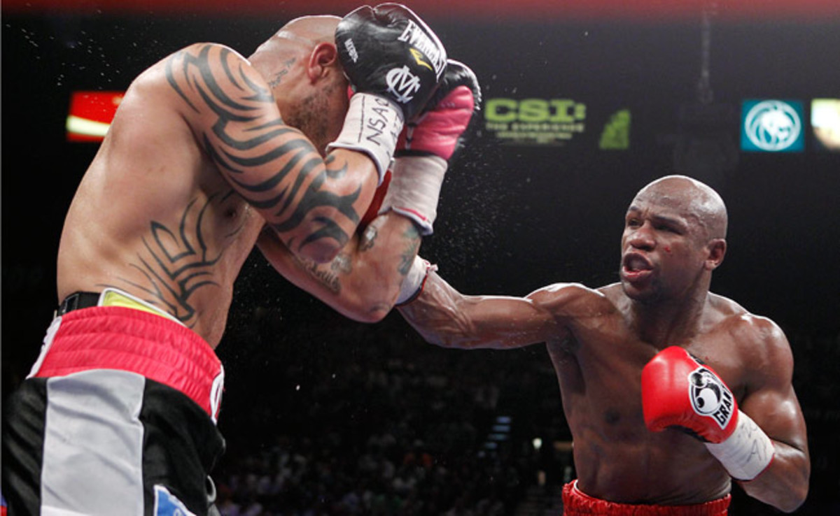 After defeating Miguel Cotto, Floyd Mayweather Jr. will fight Robert Guerrero in May on Showtime.