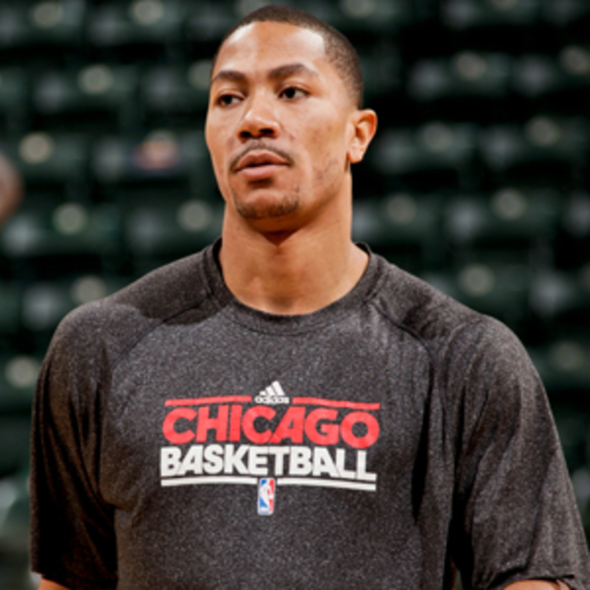Derrick Rose has been sidelined since tearing an ACL in last season's playoffs. (Ron Hoskins/NBAE via Getty Images)