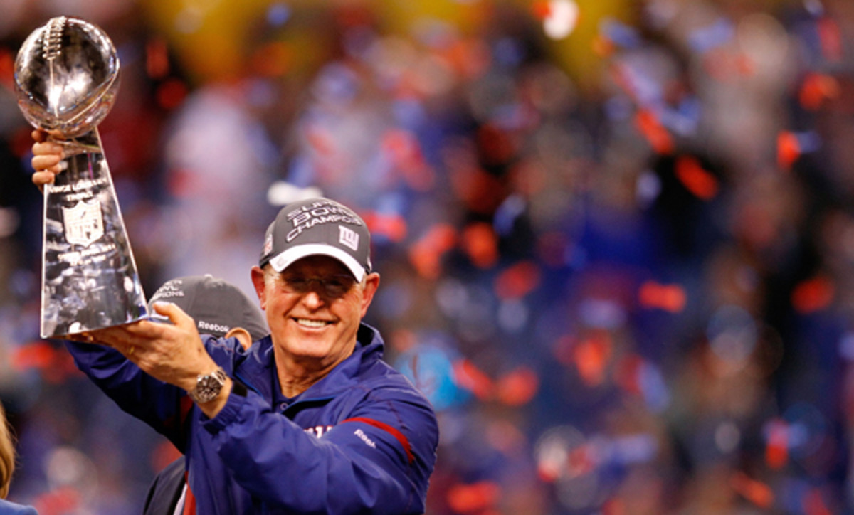 Tom Coughlin had to learn to find joy in his profession. (Rob Carr/Getty Images)