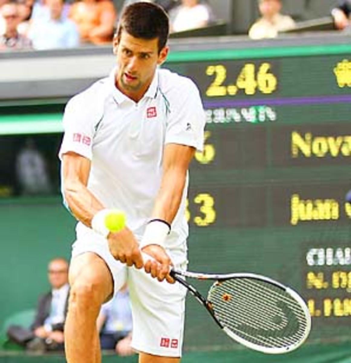 Novak Djokovic has made the semifinals of every major since Wimbledon 2010.
