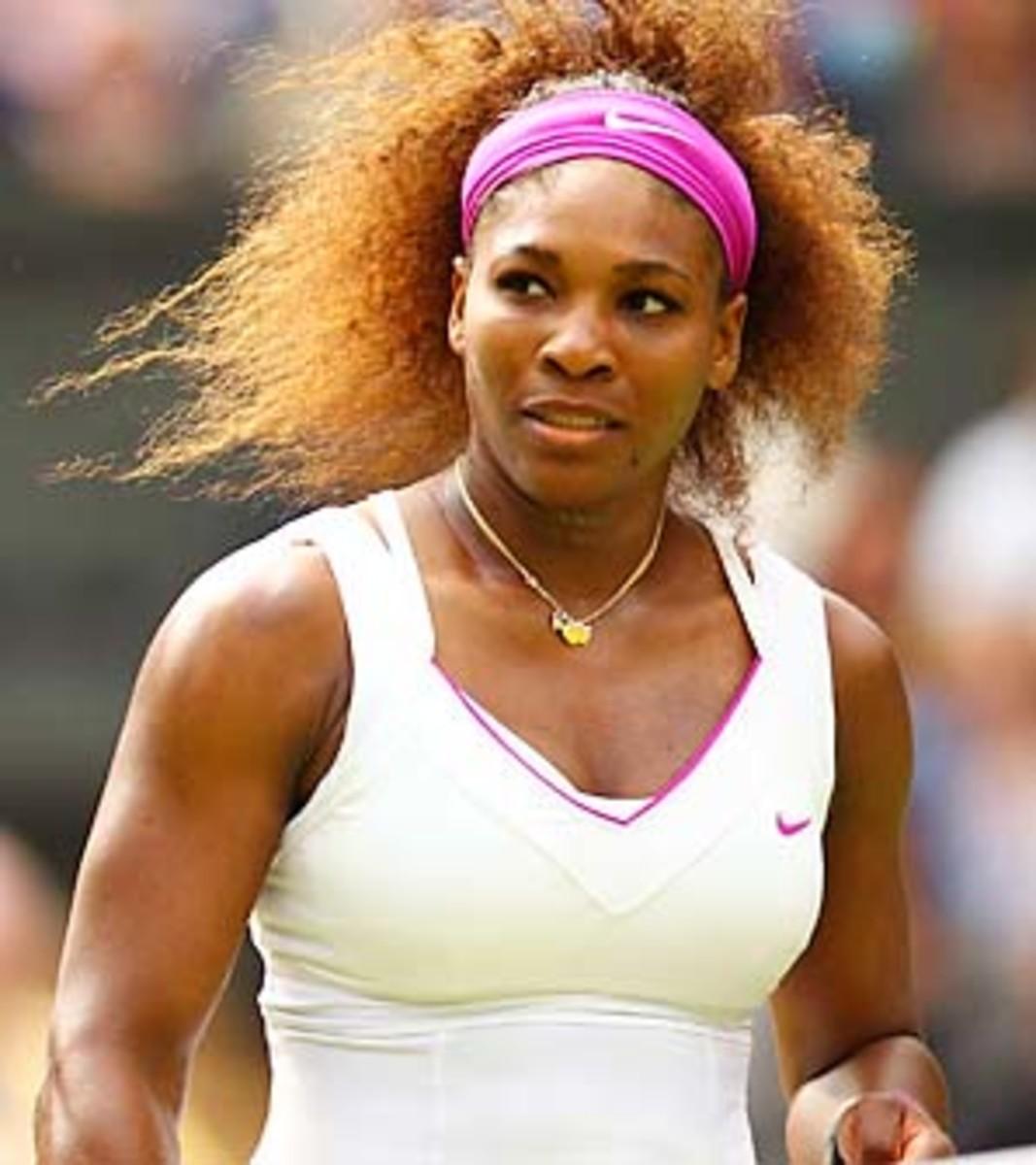 Serena Williams seeks her sixth title, which would put her three behind Martina Navratilova.