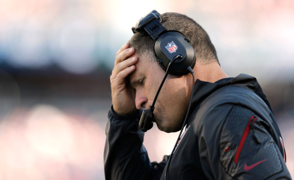 The NFLhas been tough on Greg Schiano, but he's made it tougher on himself. (Winslow Townson/Getty Images)