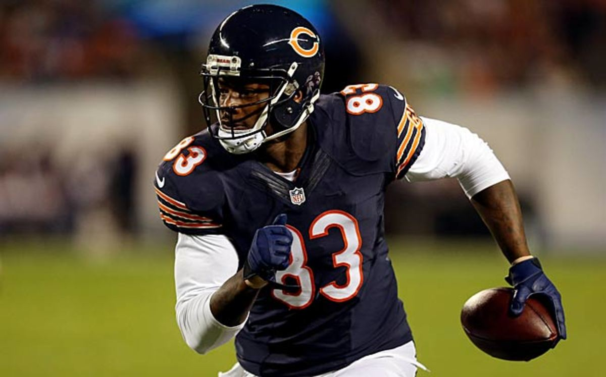 Martellus Bennett is on pace to catch more passes this season than any Bears tight end since Mike Ditka.