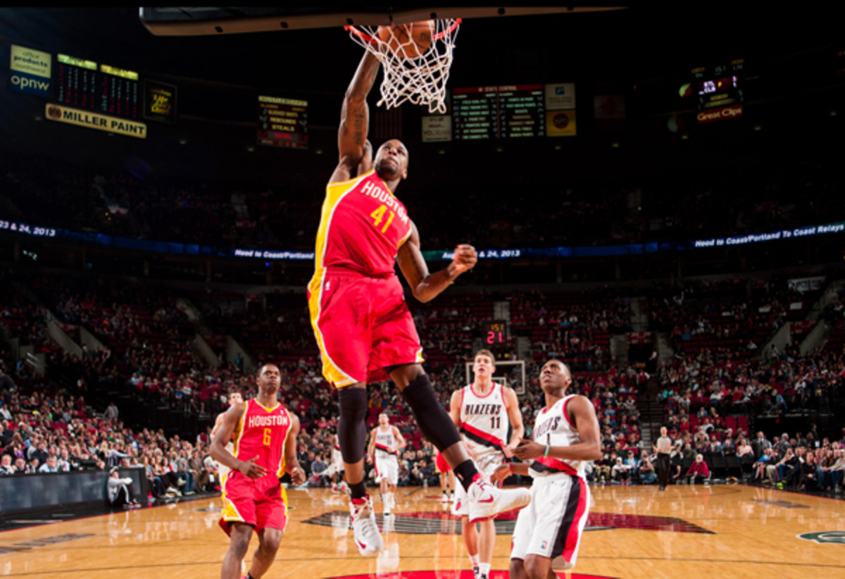 The Rockets could trade Thomas Robinson to make room for Dwight Howard