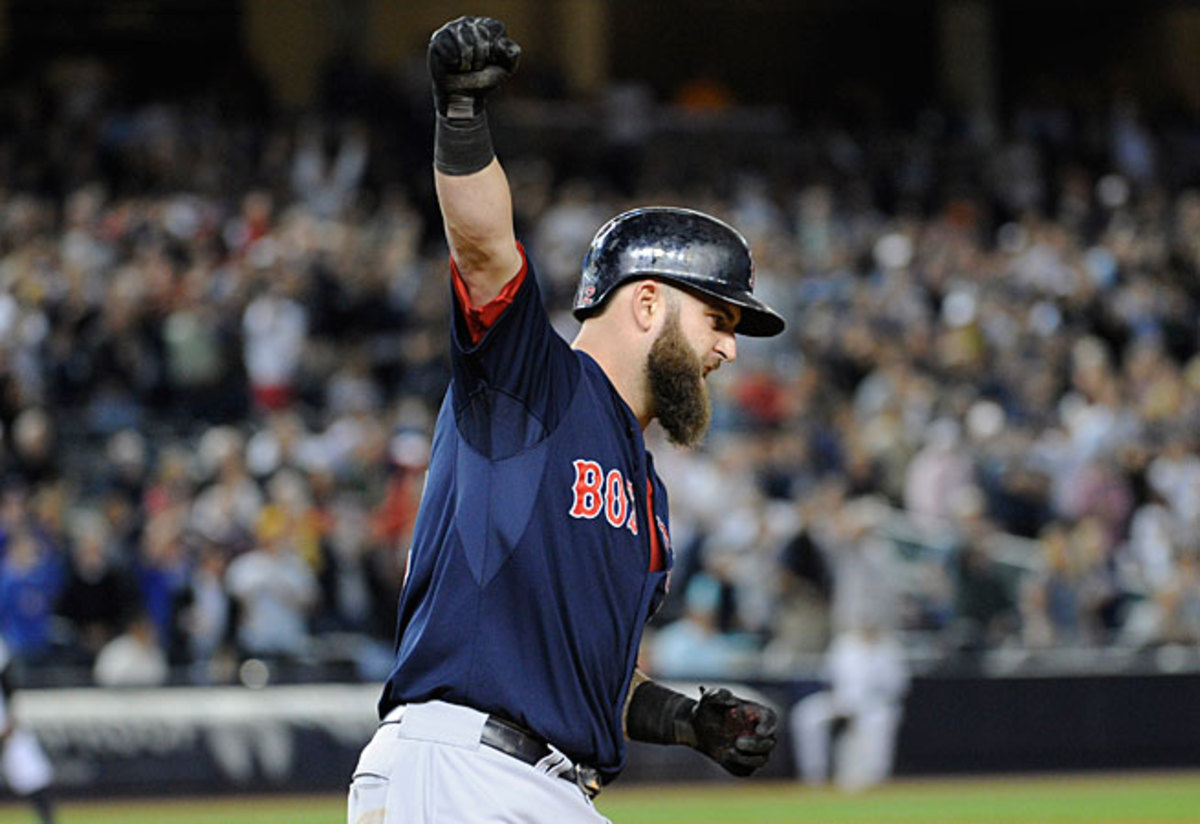 Newcomers like Mike Napoli have transformed Boston's lineup.