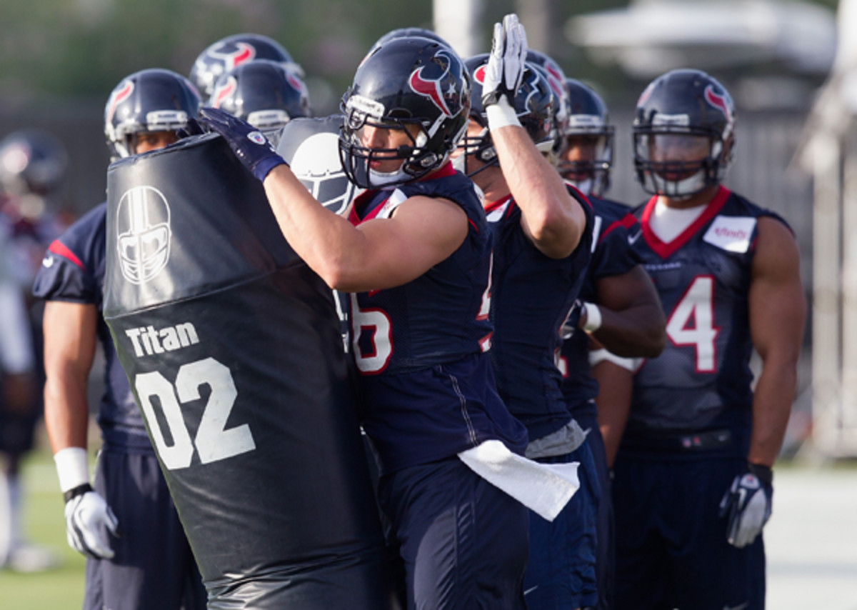 The Houston Texans are stacked on defense. (Bob Levey/Getty Images)