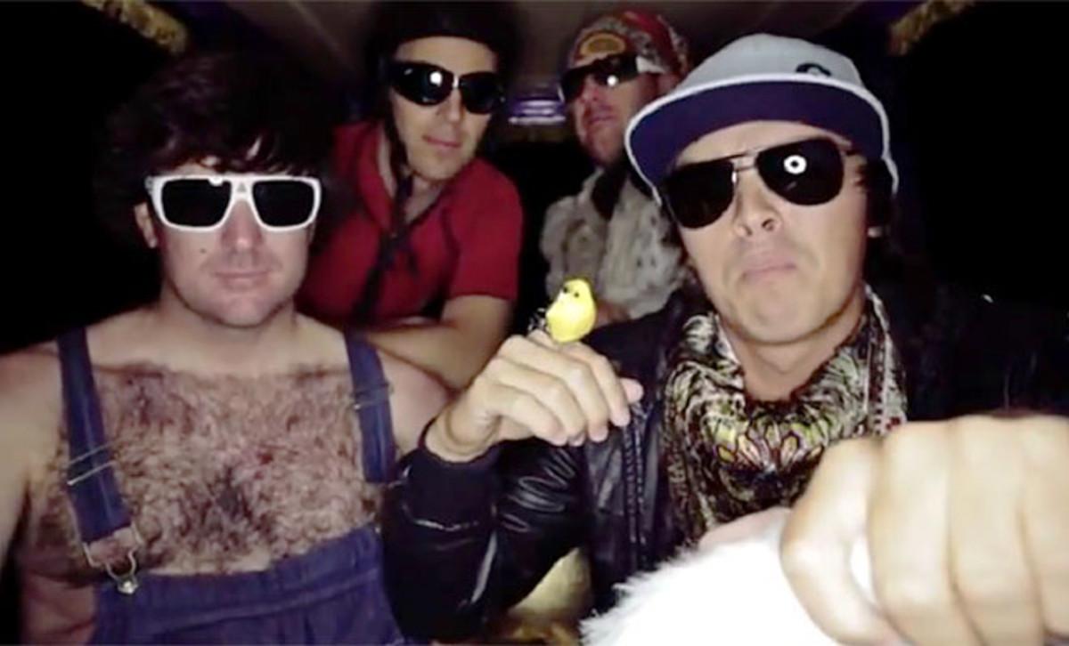 Bubba Watson, Rickie Fowler, Ben Crane and Hunter Mahan