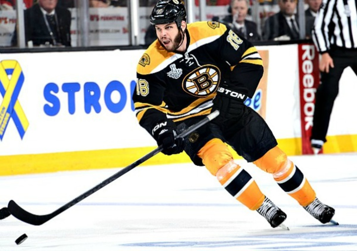 Nathan Horton signed as a free agent with the Columbus Blue Jackets