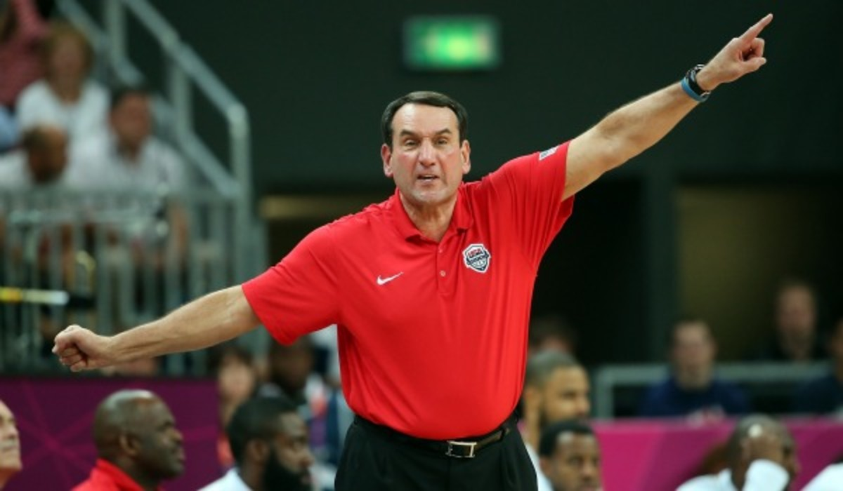 Coach K will be returning to coach Team USA through the 2016 Summer Olympics in Rio. (Photo by Christian Petersen/Getty Images)