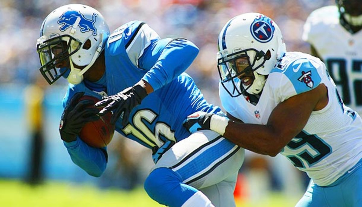 After being dropped by two teams within a matter of weeks, Titus Young may be out of luck. (Greg McWilliams/Icon/SMI)