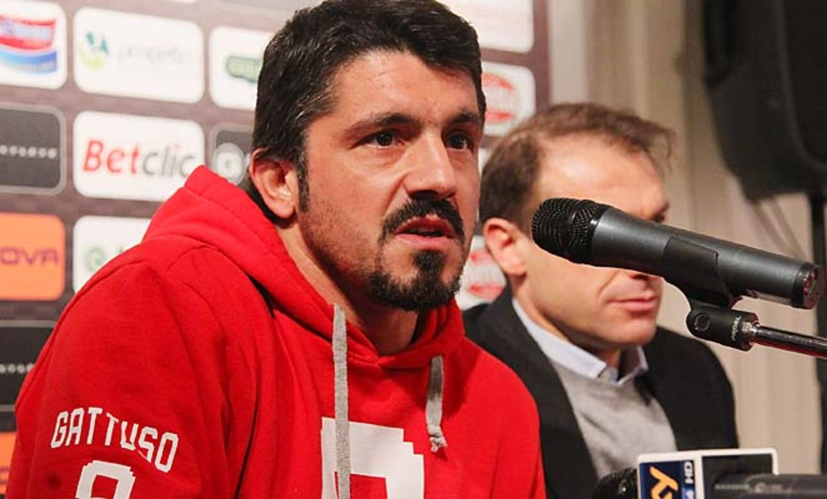 """Gennaro Gattuso earned the nickname """"Snarling Dog"""" during his time in Italy."""