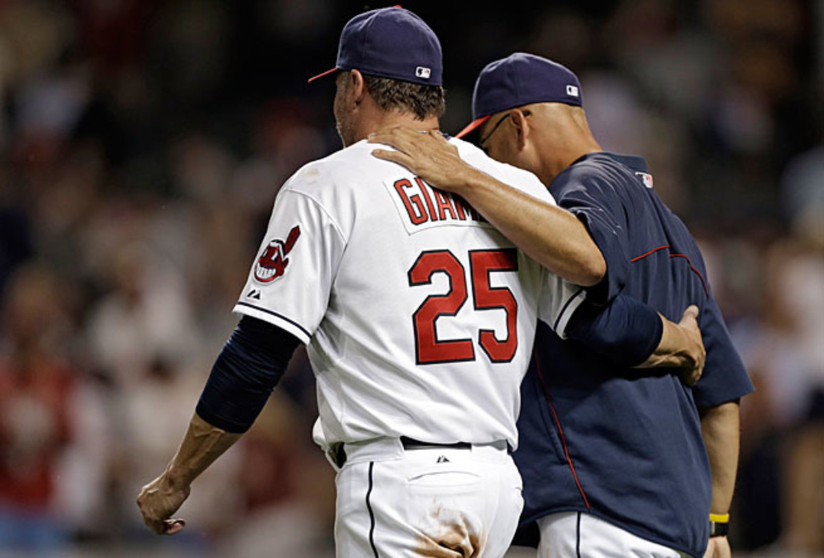 Jason Giambi has made only 83 plate appearances this season but he has earned high praise from manager Terry Francona.