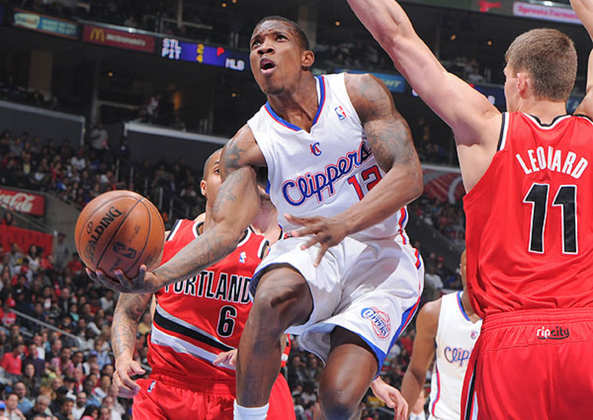Eric Bledose went from the Los Angeles Clippers to the Phoenix Suns in a three-team trade
