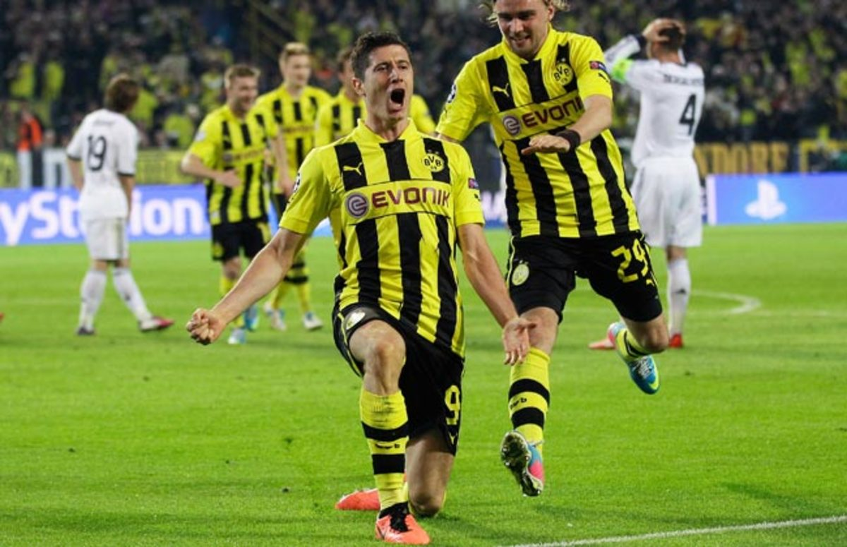 Robert Lewandowski was widely expected to sign with Bayern Munich this summer.