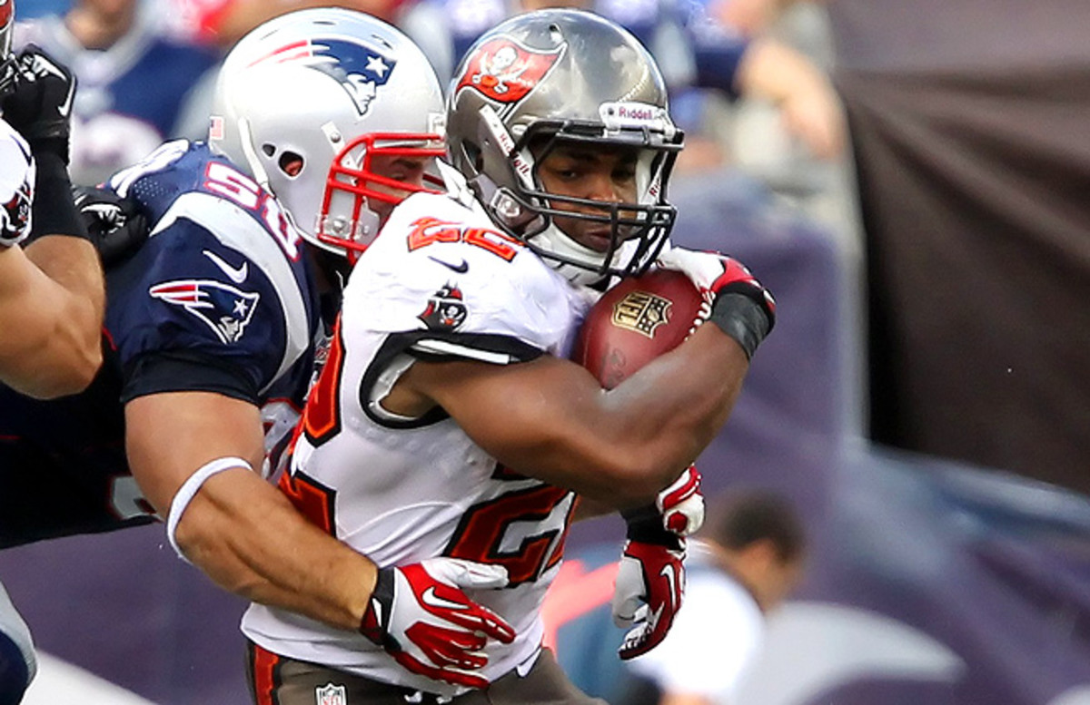 With a new quarterback at the helm this week for the Buccaneers, Doug Martin should be utilized all over the field this week.