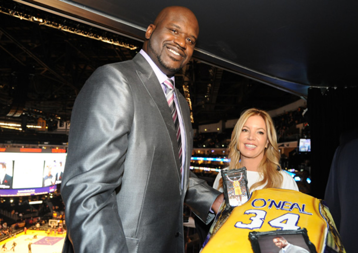 Lakers retire Shaquille O'Neal's No. 34 - Sports Illustrated