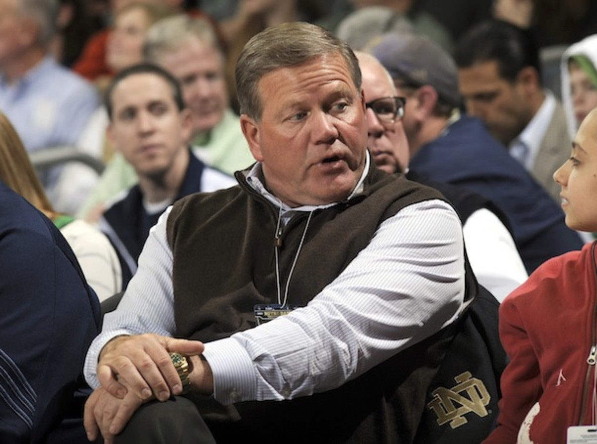 Brian Kelly, seen here crooning Demi Lovato songs softly to himself. (AP)