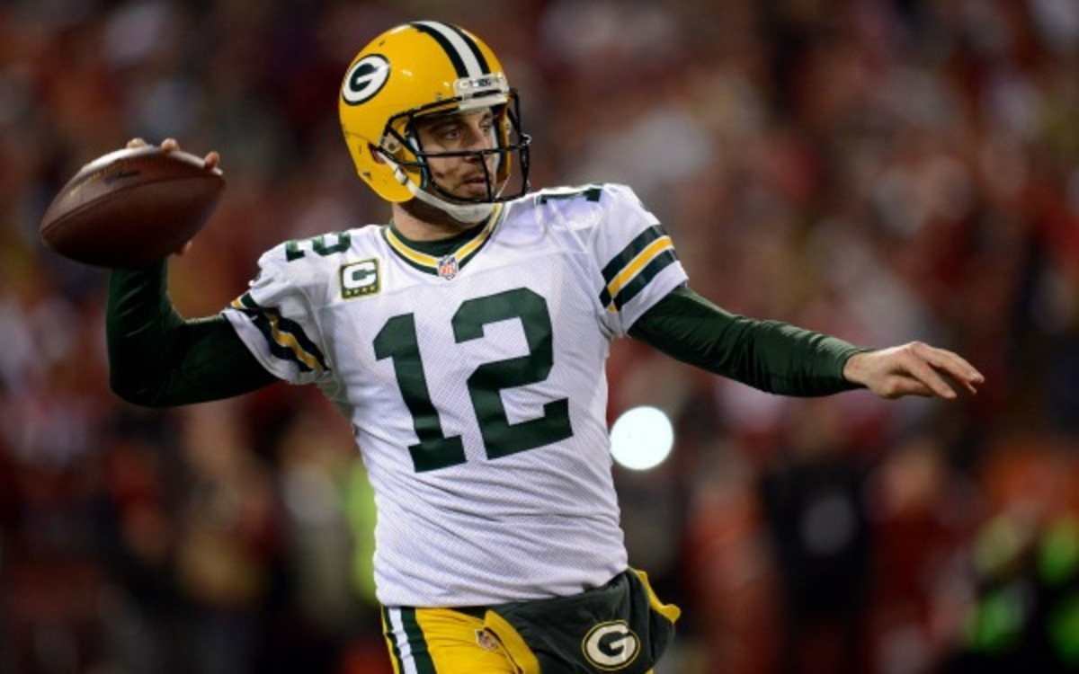 Aaron Rodgers said he was disappointed in his friend Ryan Braun. (Thearon W. Henderson/Getty Images
