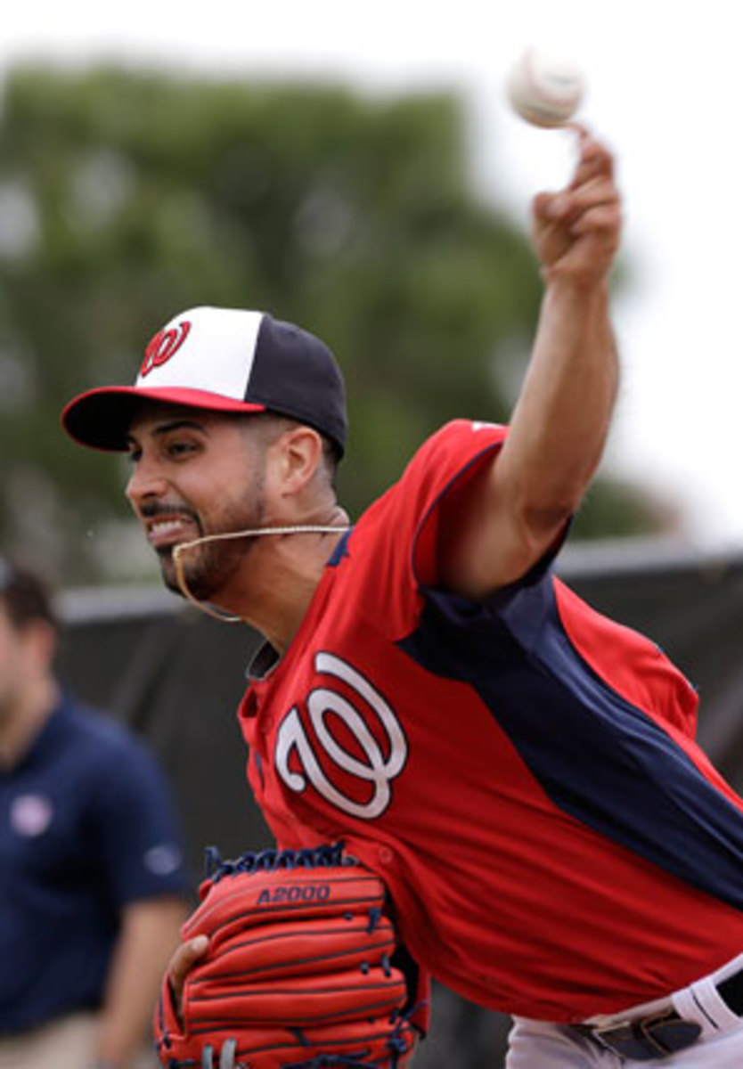 Gio Gonzalez was listed in a recent report as having received PEDs from an anti-aging clinic in Florida.
