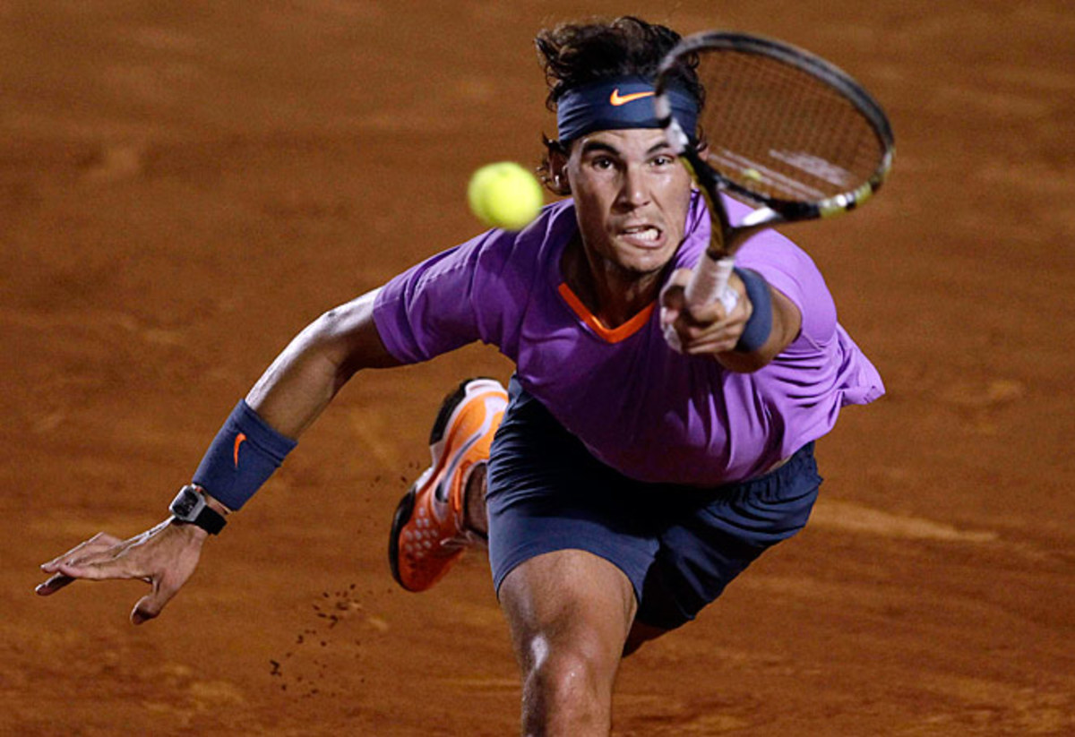 Rafael Nadal didn't lose a set at the Mexico Open, including a rout of David Ferrer in the final.