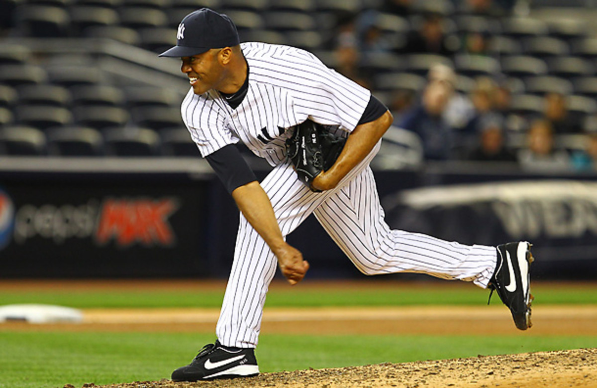 Mariano Rivera finished top-5 in Cy Young voting five times even though he never started a game after 1995. [Al Bello/Getty Images]