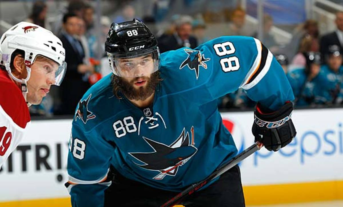 Brent Burns of the San Jose Sharks has the best head of hair in the NHL