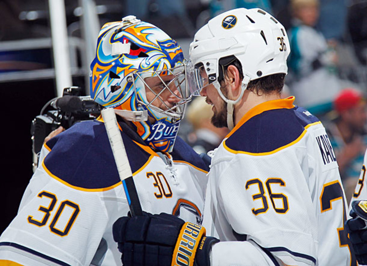 Ryan Miller and Patrick Kaleta