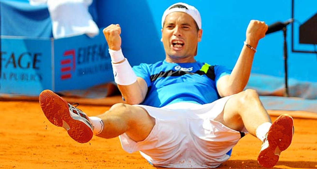 Albert Montanes faces American Steve Johnson in the French Open first round.