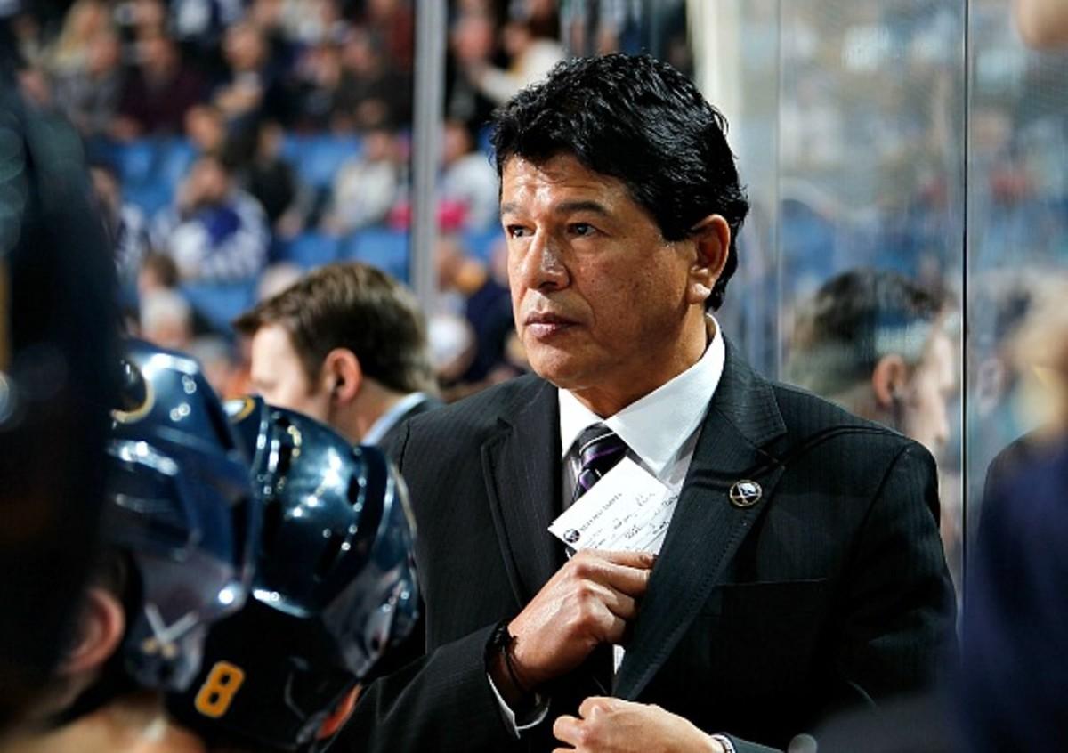 Ted Nolan of the Buffalo Sabres
