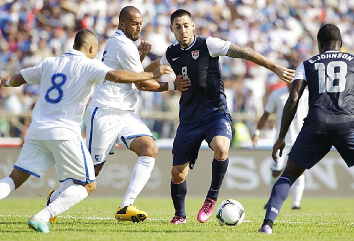 Clint Dempsey and the U.S. next face Costa Rica after losing at Honduras.