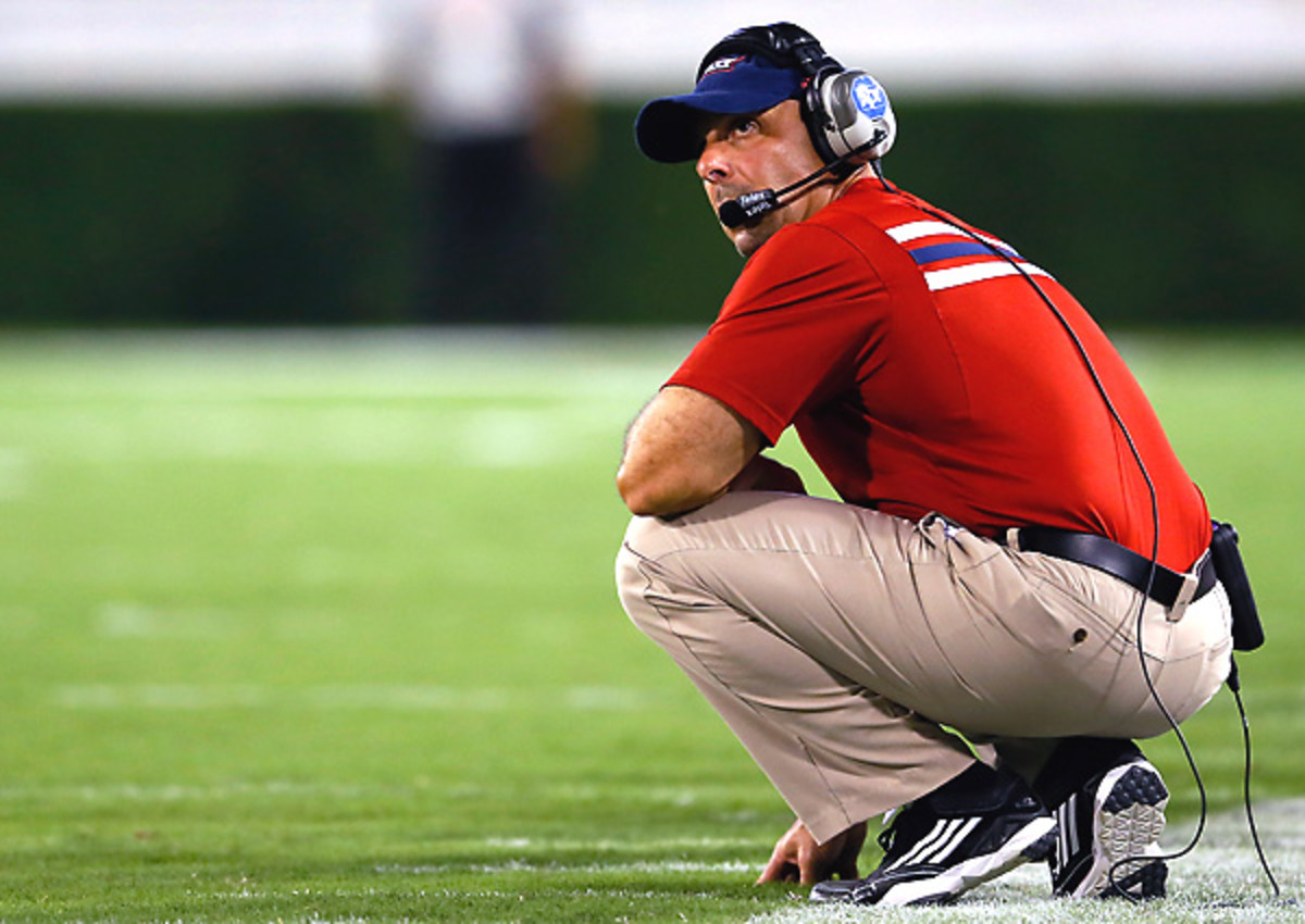Carl Pelini has publicly narrowed down FAU's starting quarterback -- to four possibilities.