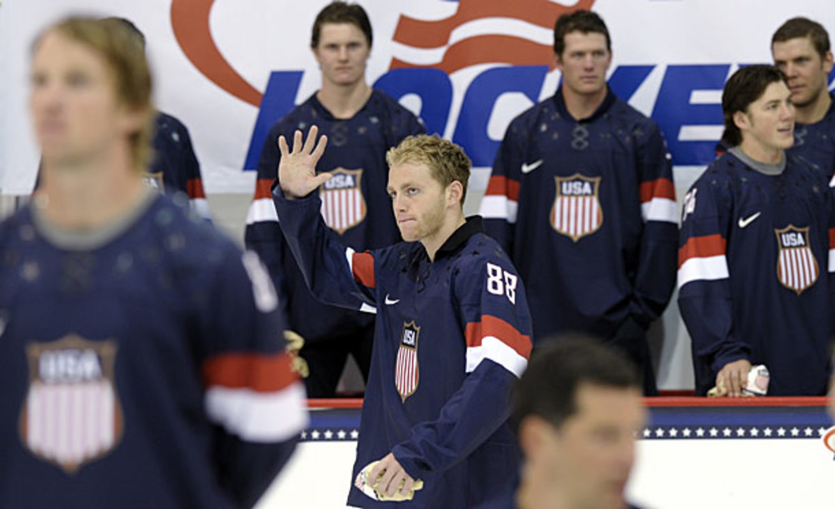 Patrick Kane of Team USA