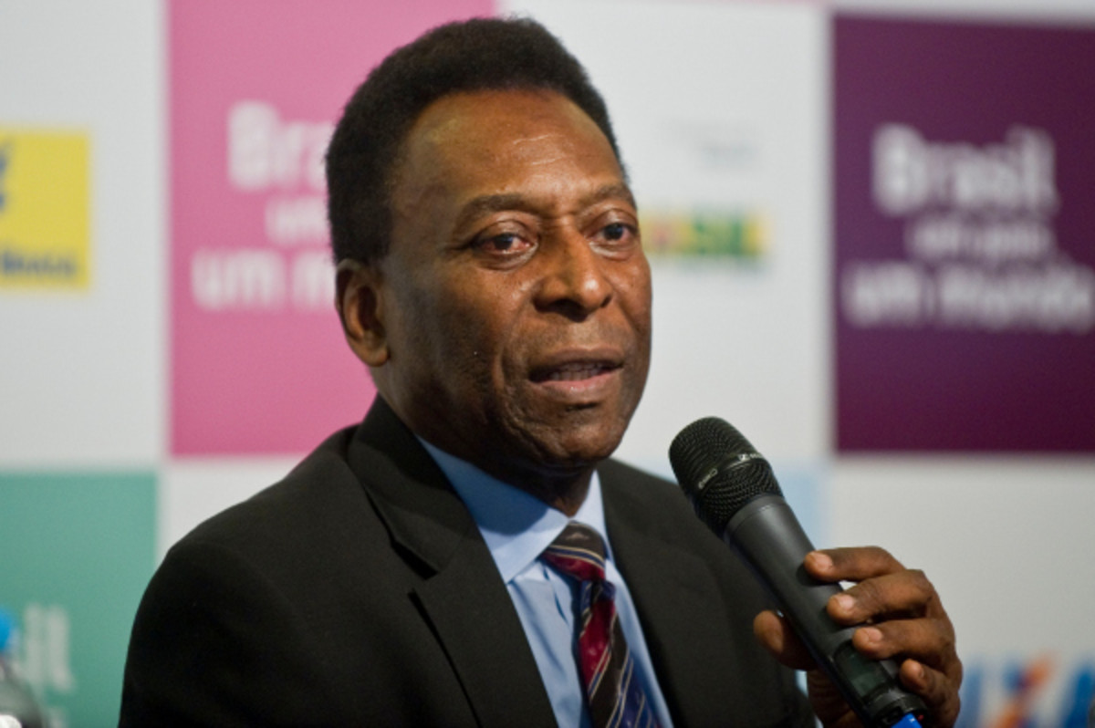 Brazilian soccer legend, Pelé, said in a television interview that he supported peaceful protests going on in the country. (AFP/Getty Images)