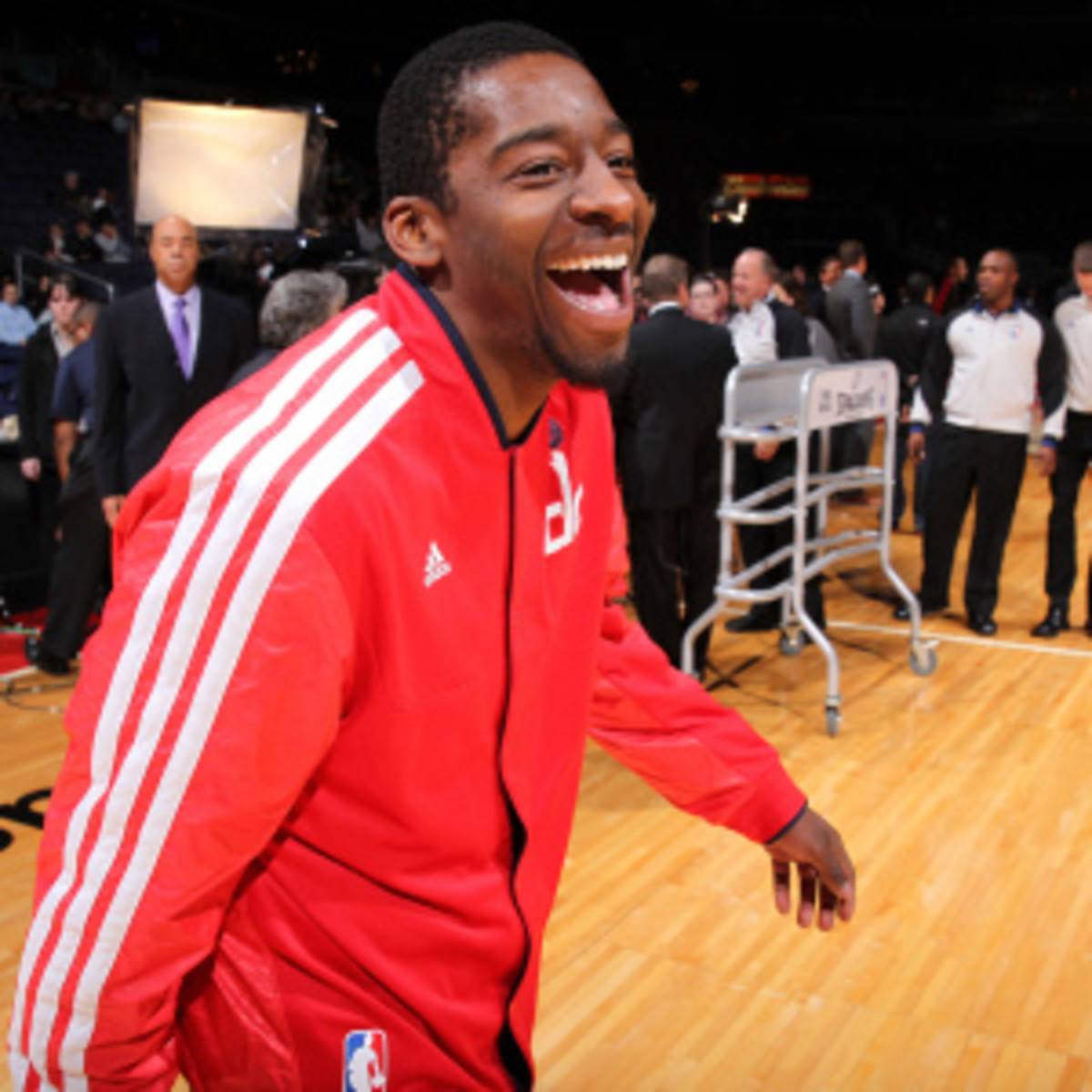 Jordan Crawford could be headed to the Celtics in exchange for Fab Melo. (Ned Dishman/Getty Images)