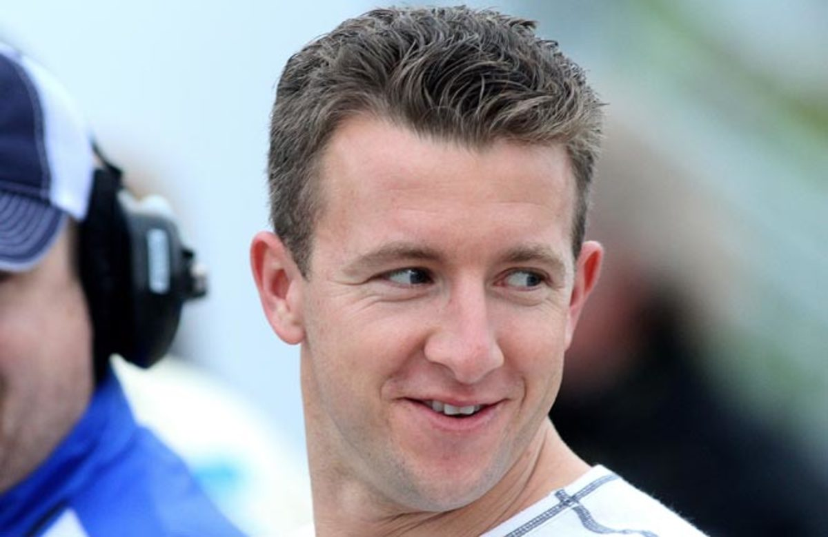 A.J. Allmendinger could race at the Indianapolis 500 if his sponsorship is secured.