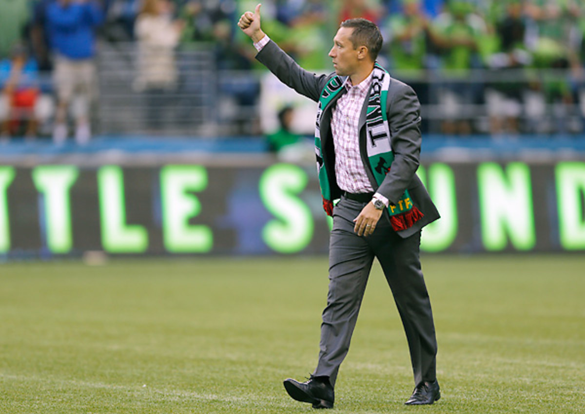 Caleb Porter's incredible debut season with Portland has earned him a new contract.