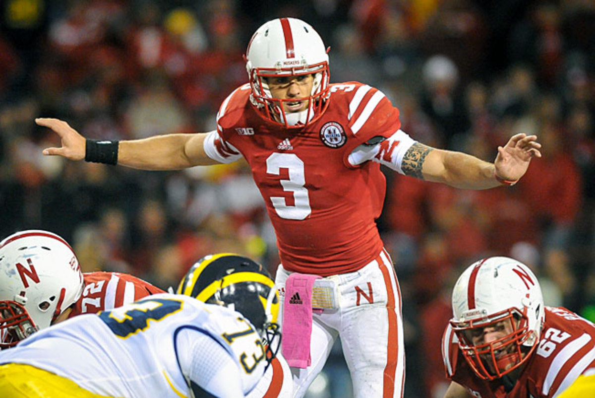 Nebraska's Taylor Martinez racked up 3,890 yards of total offense and 33 TDs during his junior season.