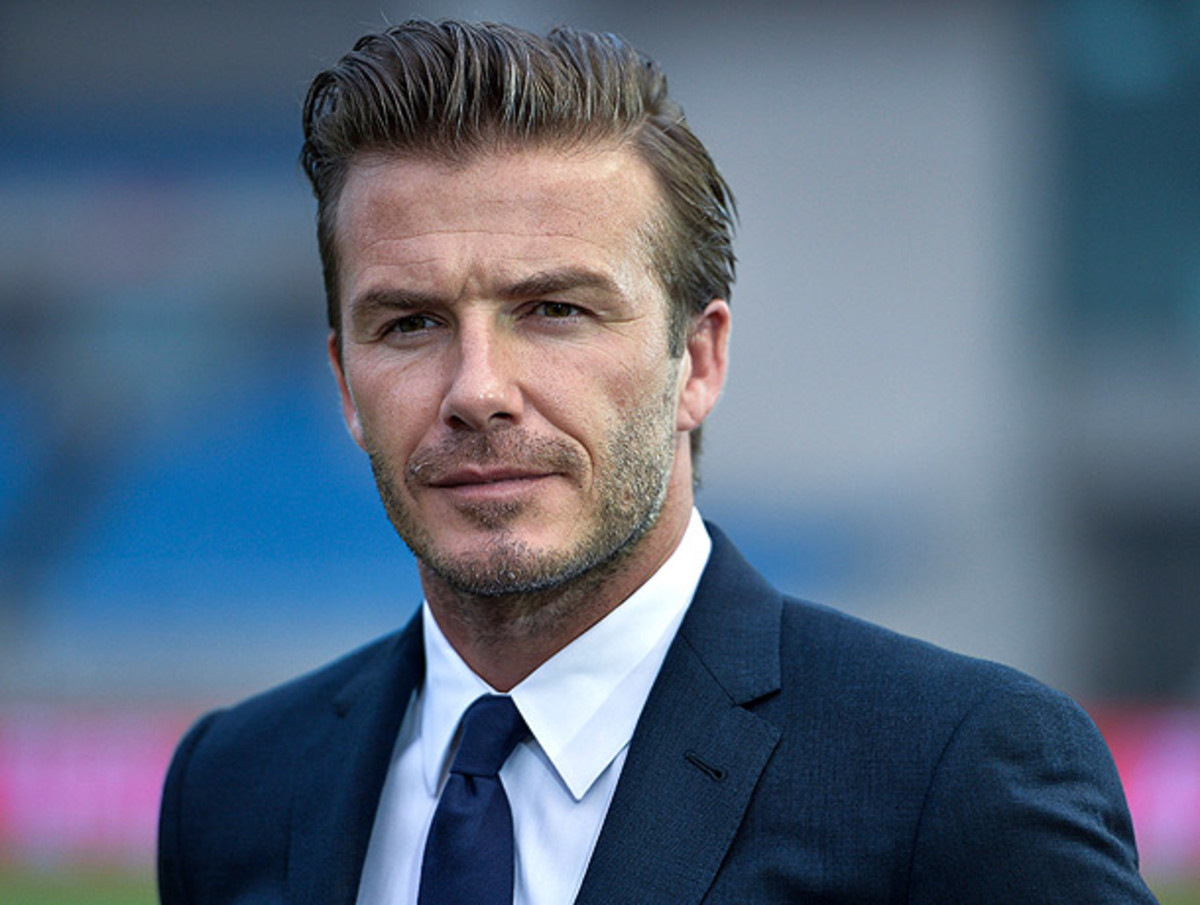David Beckham is spearheading a group that's trying to bring MLS soccer to MIami. (ChinaFotoPress/Getty Images)