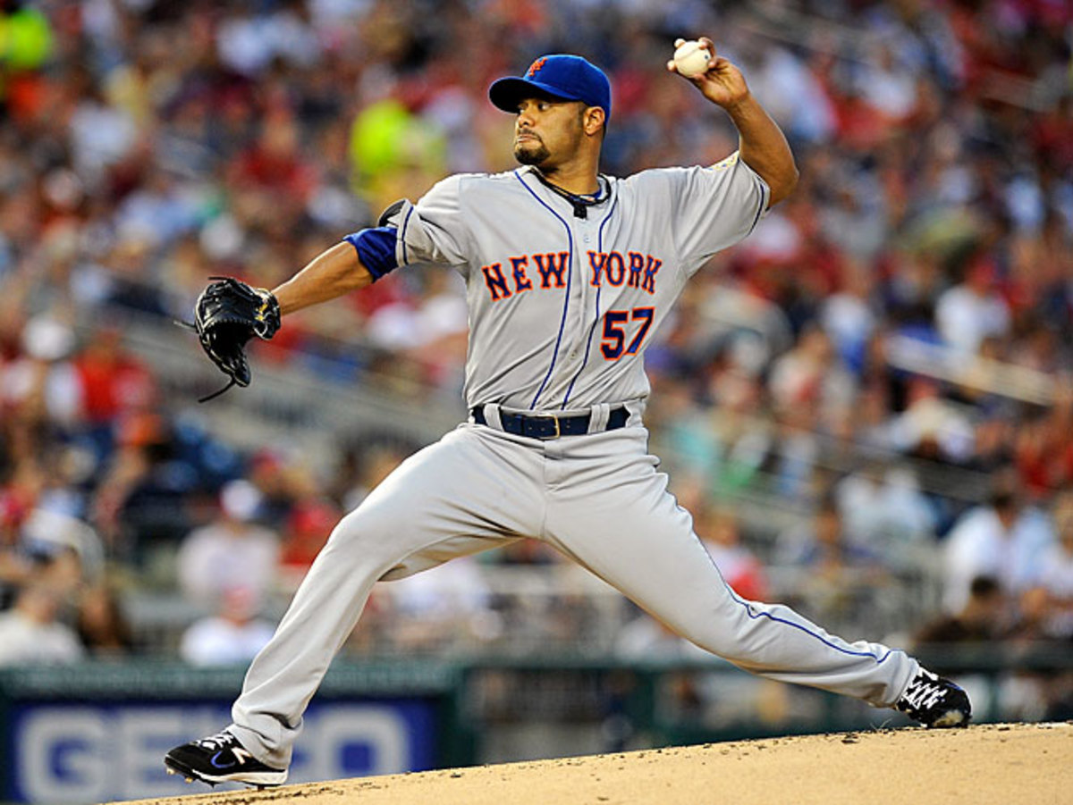 Johan Santana has re-torn the anterior capsule in his left shoulder and will likely miss the 2013 season.
