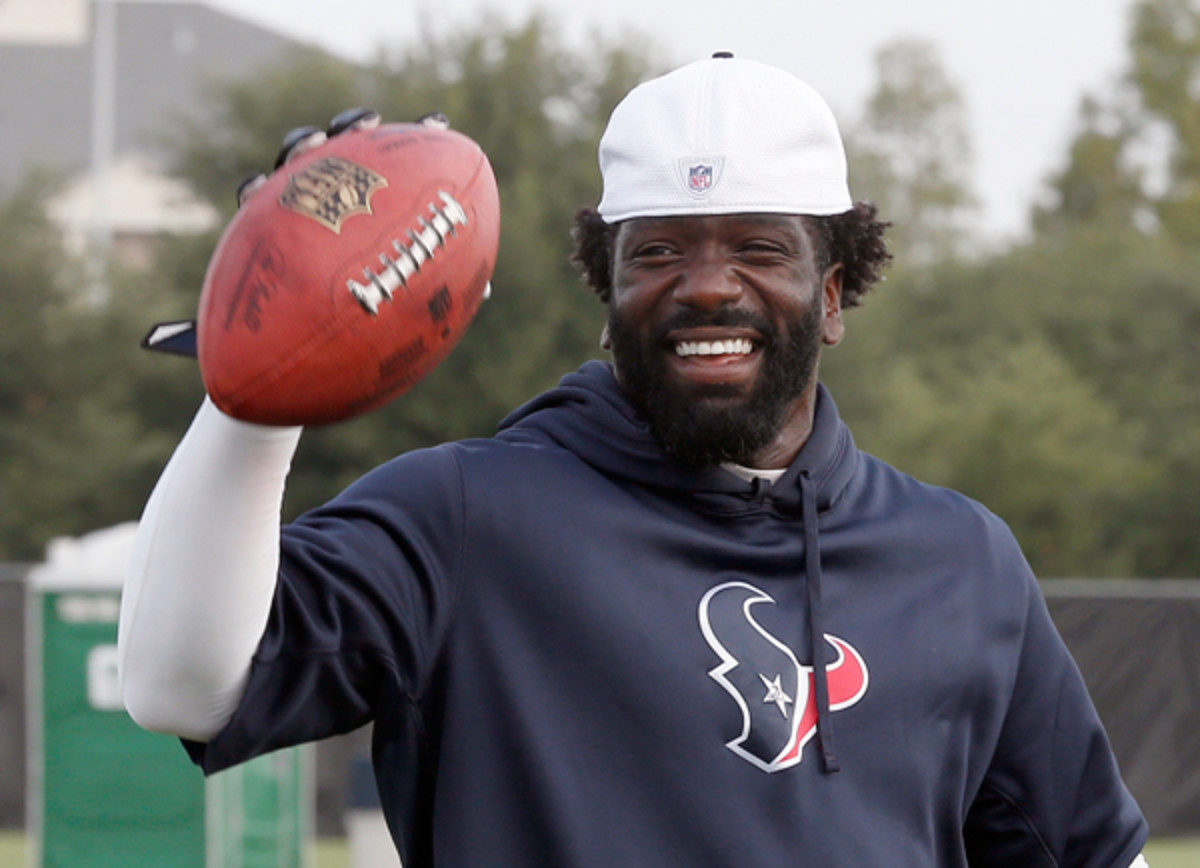 Ed Reed is finally ready to roll for the Texans.