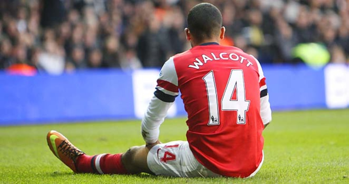 Theo Walcott has 11 goals and nine assists in the Premier League this season.