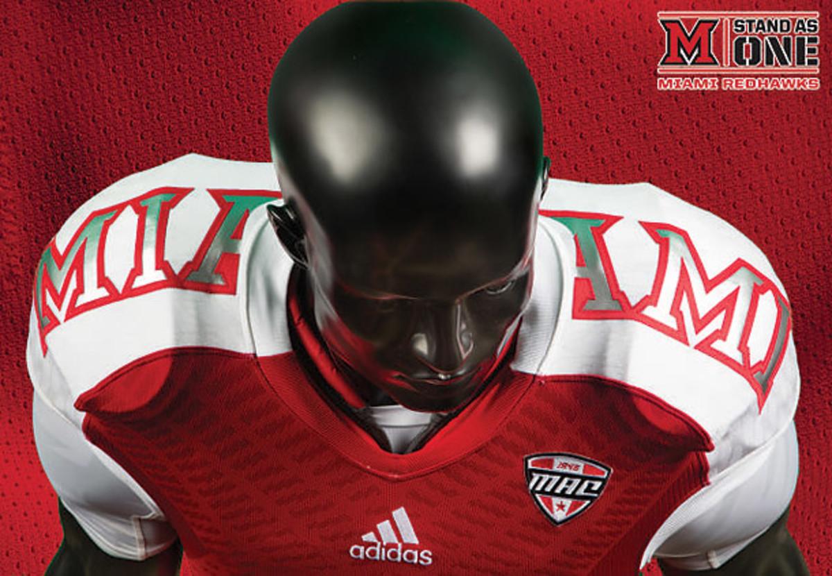 Miami (Ohio) RedHawks uniforms