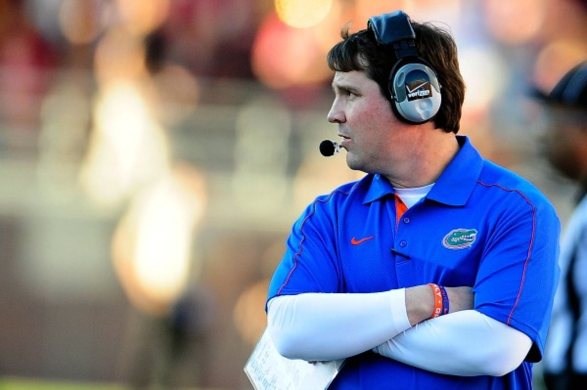 Florida coach Will Muschamp received a pay raise after three years in Gainesville. (Stacy Revere/Getty)