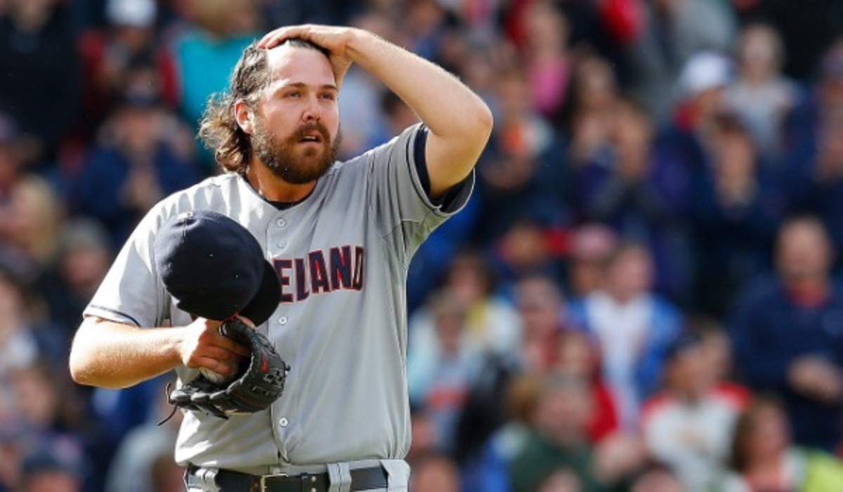 Chris Perez has been placed on the disabled list with right shoulder stiffness. (Photo by Jim Rogash/Getty Images)
