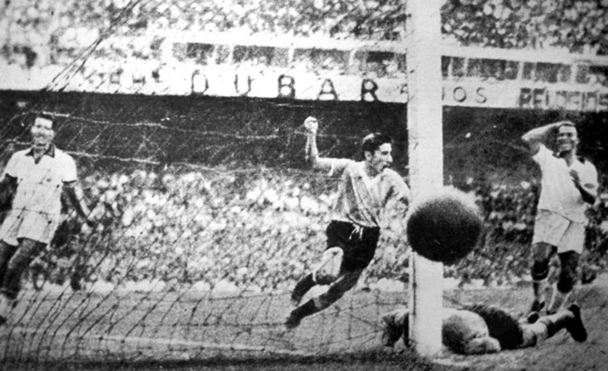 Uruguay's Alcides Ghiggia