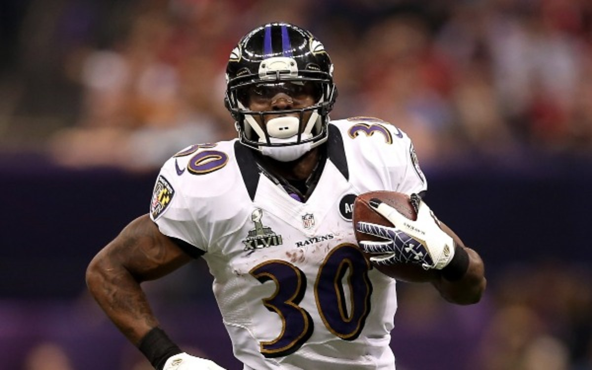 Ravens RB Bernard Pierce is ok after being robbed and carjacked this weekend. (Christian Petersen/Getty Images)