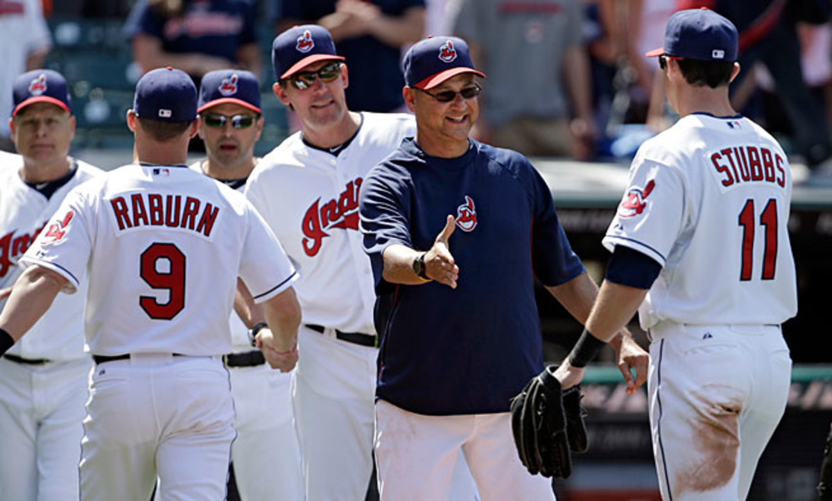 Terry Francona has had an immediate impact in Cleveland, guiding the Indians into contention.