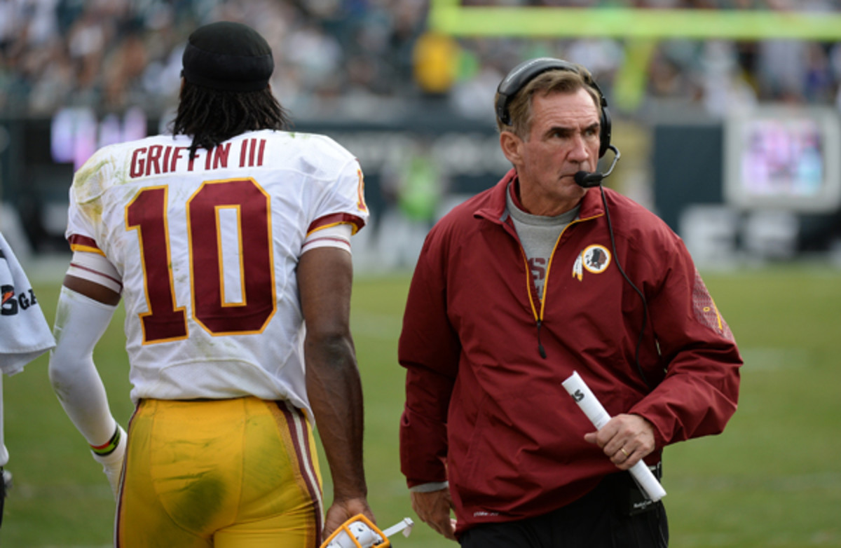 The alleged divide between Robert Griffin III and Mike Shanahan could make for an interesting offseason.