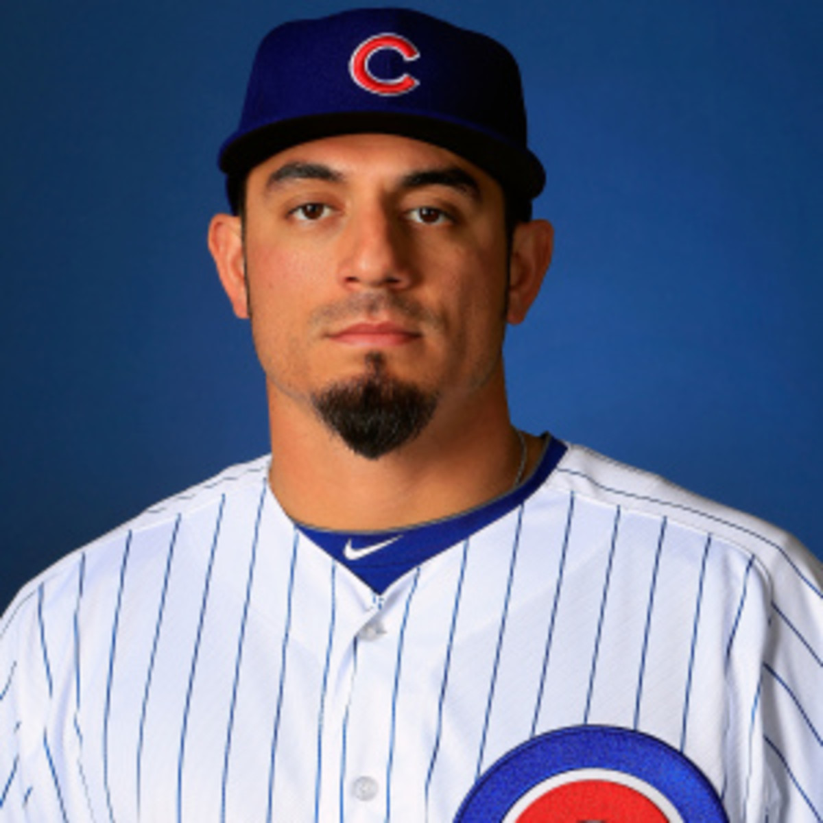 Matt Garza will be sidelined for a week but the Cubs are optimistic he will be available for opening day in April. (Jamie Squire/Getty Images)