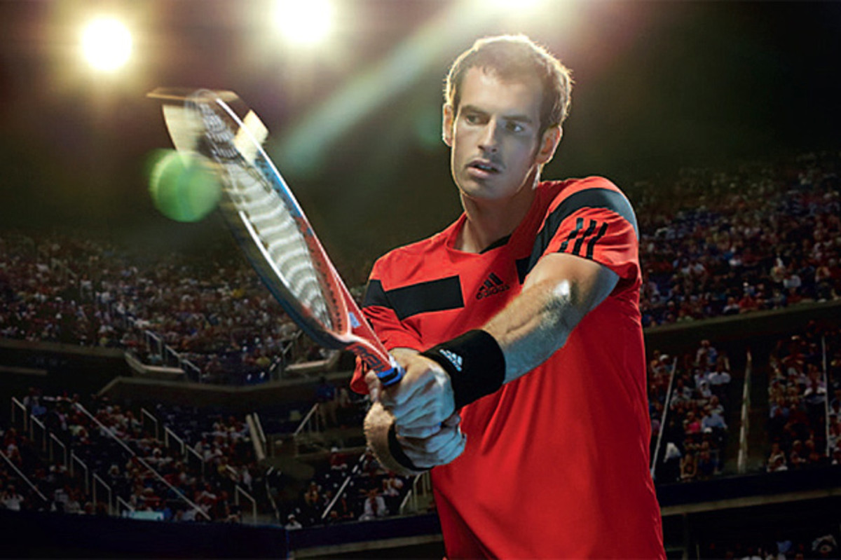 Andy Murray will be wearing this outfit under the lights at the U.S. Open. (Courtesy of Adidas)